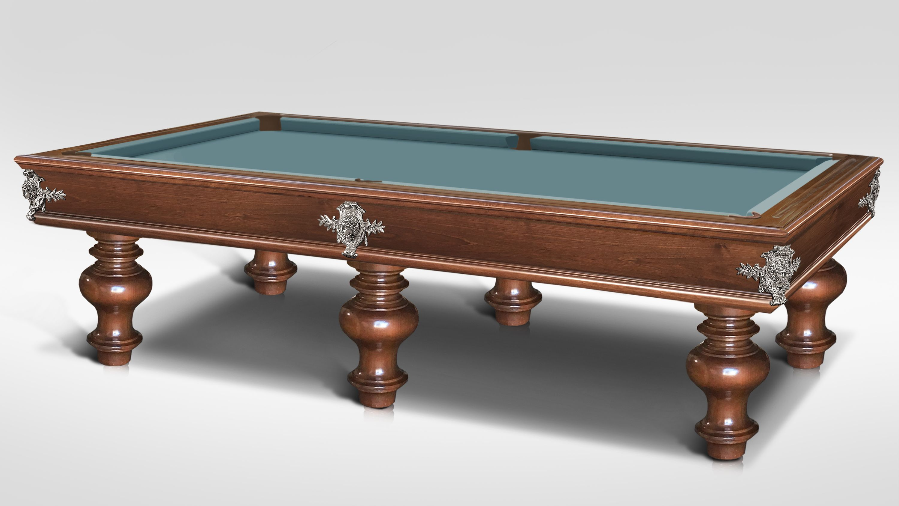 Leonardo Onion Walnut Billiard Pool Table 4
