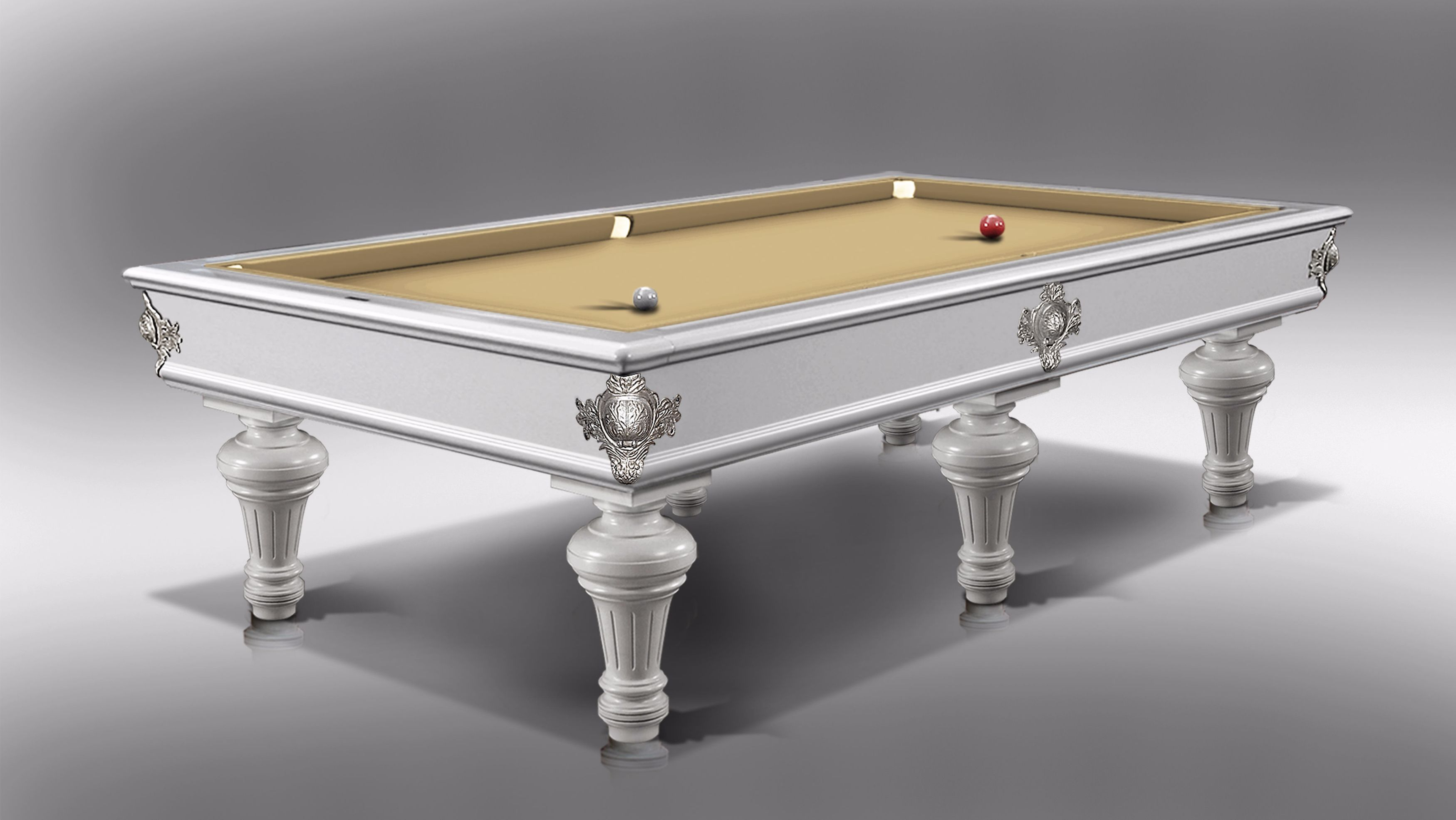 Leonardo Fashion Billiard Pool Table Lacquered 6