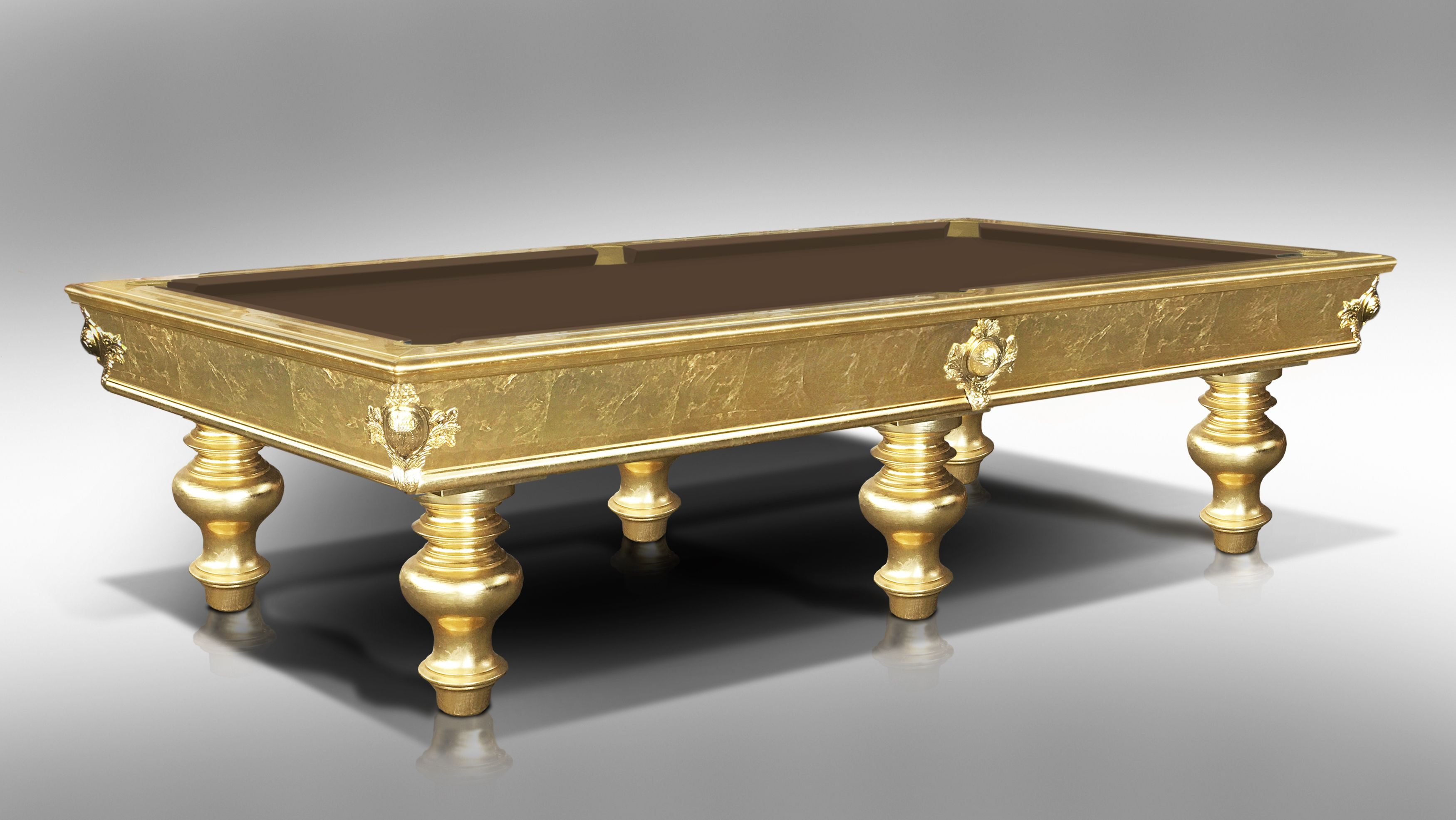 Leonardo Gold Leaf billiard Pool Table 2
