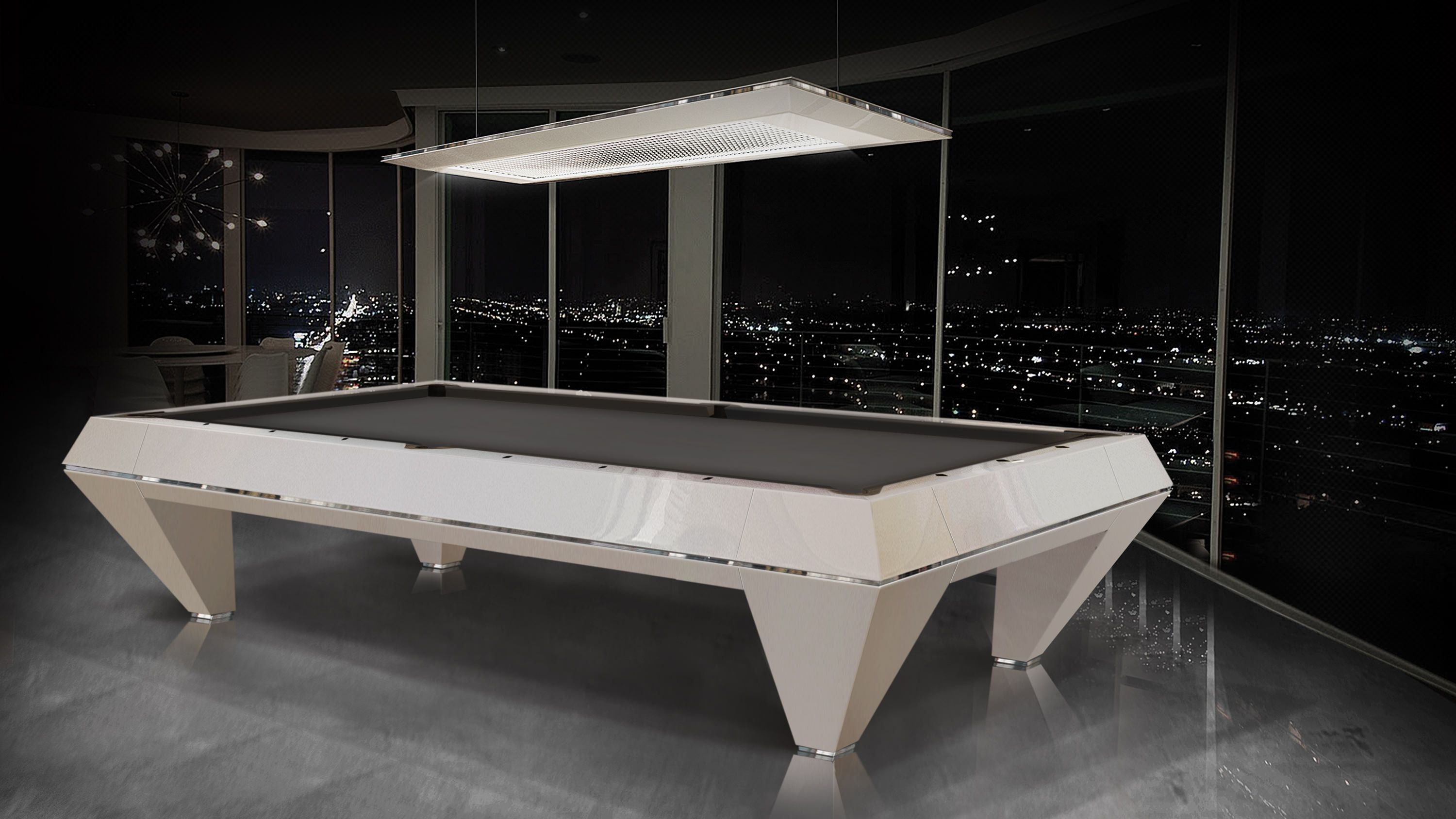 """ F1 LACQUERED"" billiard Pool Table 1"