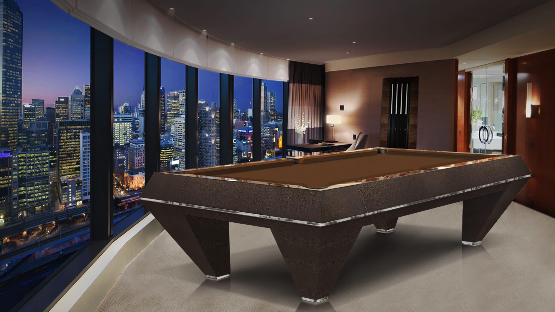 Millennium Leather Billiard Pool Table 3