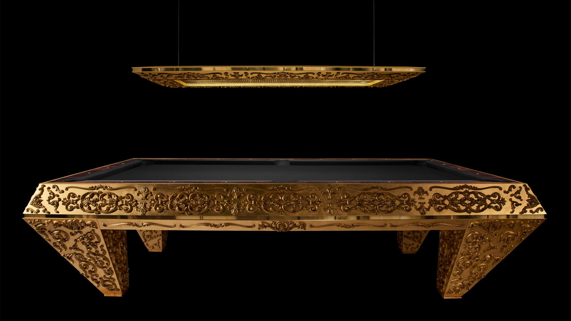 Pashà Gold Pool Table - Showroom Shop 4
