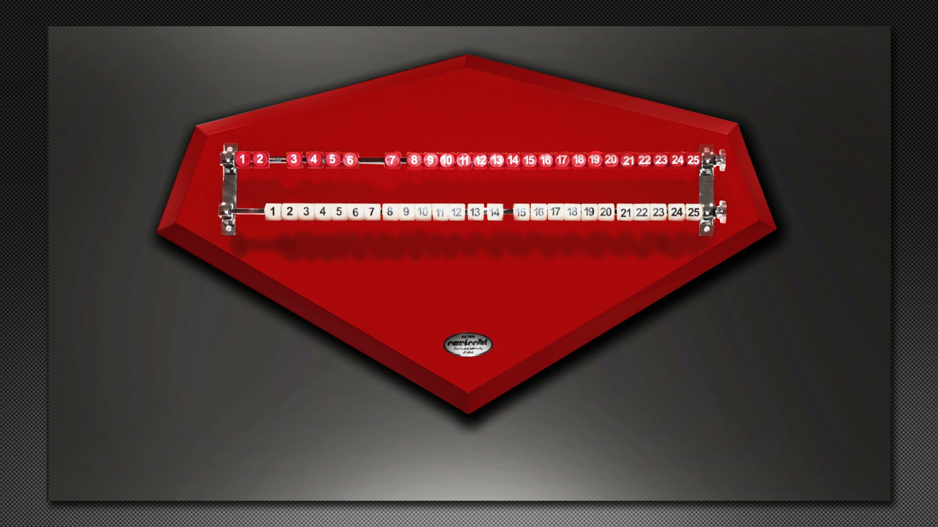 """F1 SCUDERIA"" Cue Holder and Scorekeepr Set"