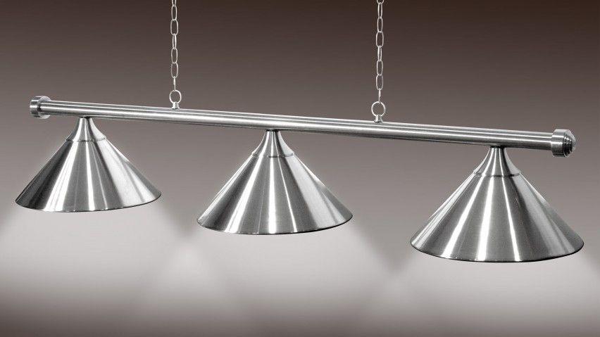 Lampadario 3 e 4 campane acciaio satinato Lampadari ...