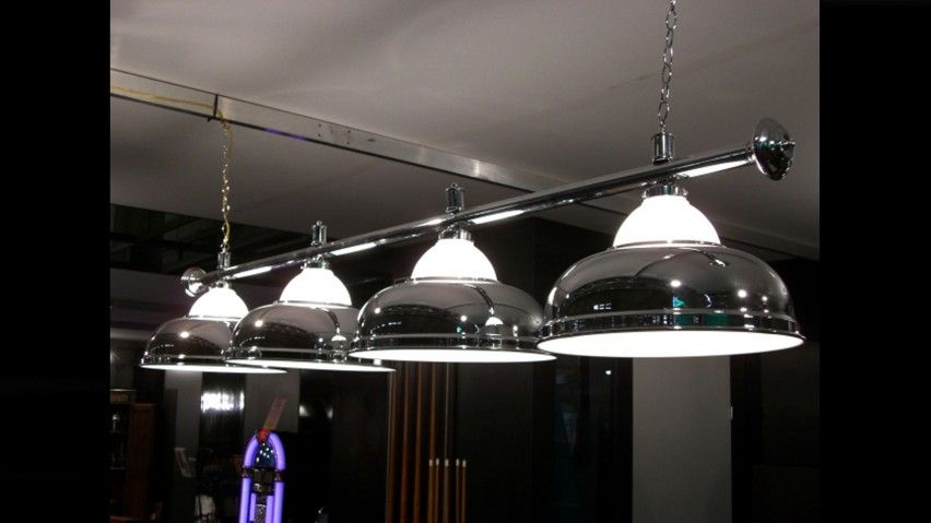 Lampadario 4 campane cromo cristallo Lampadari ...