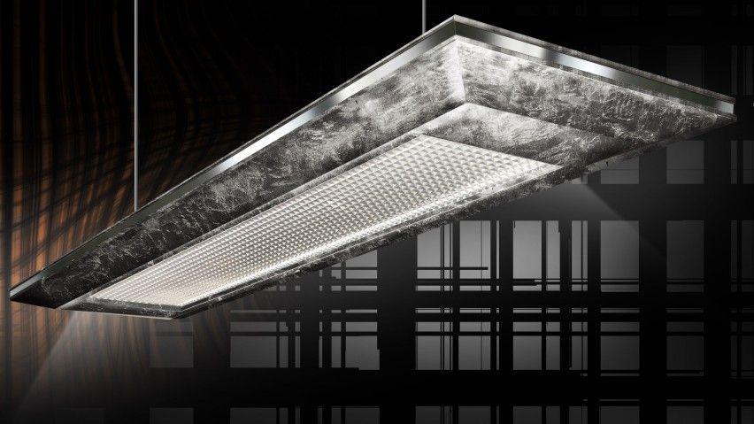 Silver Leaf Technology Chandelier Exclusive Billiard S