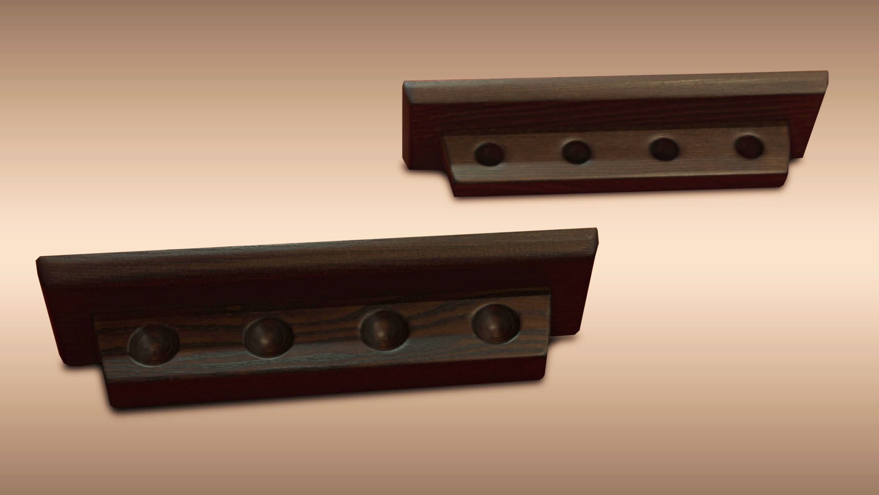 Luxor Wenghè Cue Holder and Scorekeeper Set 2