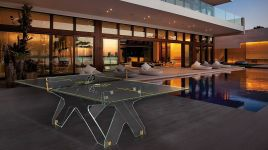 Crystal Tennis Table Ping Pong Meeting 3