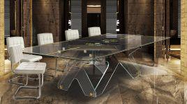 Crystal Tennis Table Ping Pong Meeting 5
