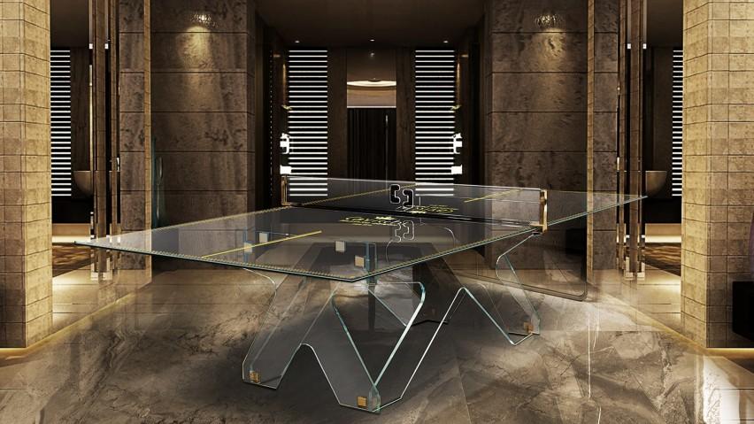 Crystal Tennis Table Ping Pong Meeting 4