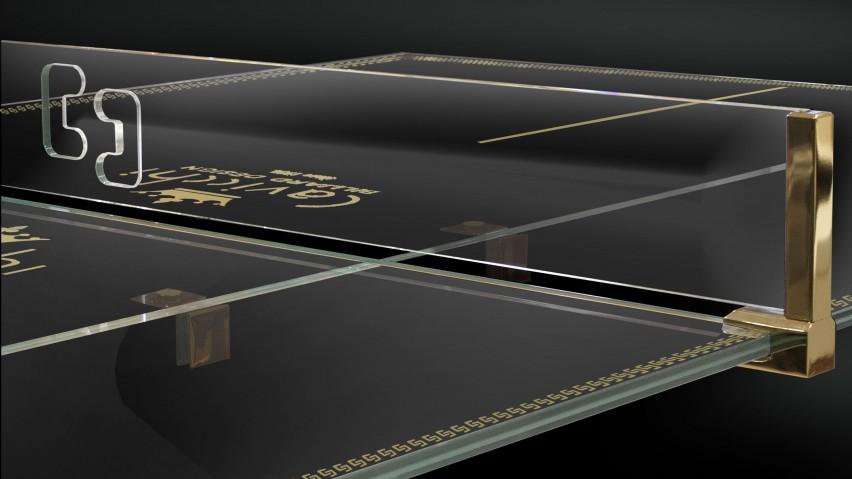 Crystal Tennis Table Ping Pong Meeting 8